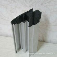 2013 customized shower aluminum extrusions profiles