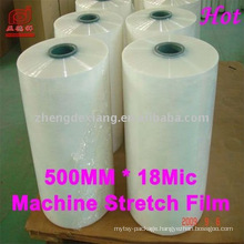 HOT SALE!!! LLDPE machine stretch film/machine strech wrap film/automatic stretch film