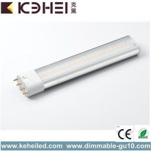 Tubo 2G11 7W 4000K LED Reemplace 18W CFL