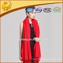 New Women Beautiful Soft Wrap Shawl Multi Red Color 100% xales de seda pura