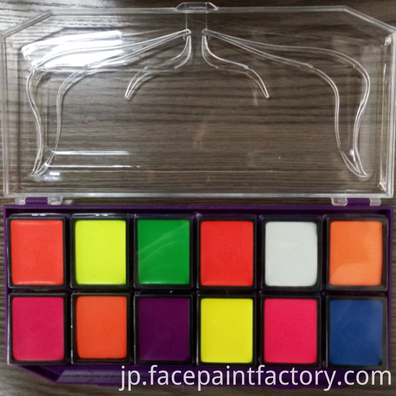 Uv Face Paint Kit