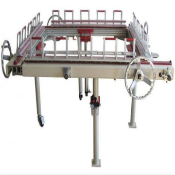 Kleine 60 * 60cm handmatige screen mesh stretching machine