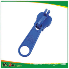 Non Lock Zipper Slider with Blue Color Painting