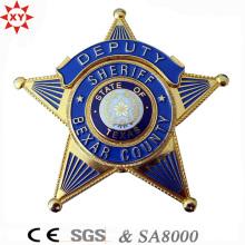 Hochwertiges kundenspezifisches Logo-Metallabzeichen für Polizei