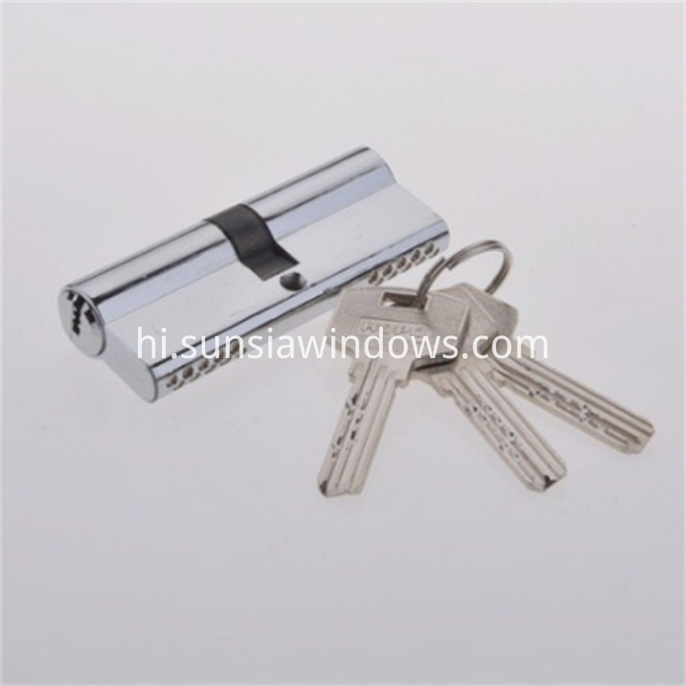 Brass Lock with Various Key from HOPO, door cylinder lock,High Quality Door Cylinder Lock