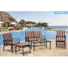 All Weather Aluminum Outdoor Sofa Set