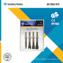 Rongpeng RP7002 4PCS cinceles Air Tool Kits