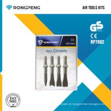 Rongpeng RP7002 4PCS formões Air Tool Kits