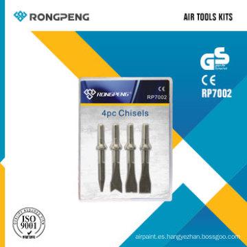 Rongpeng RP7002 4PCS cinceles Air Tool Kits