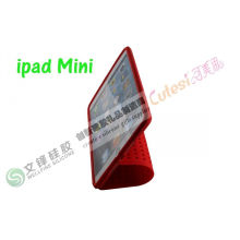 Red Round Dot New Lego Blocks Ipad Mini Silicone Case Oem And Odm
