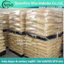 Sap Super Absorbent Polymer para pañales para bebés
