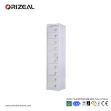 Casier en acier de bureau de dix portes d'Orizeal (OZ-OLK001)