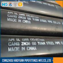 "ASTM / SA A106 Gr.B 20 ""SCH60 6M Seamless Ms Black Pipe"