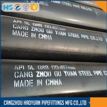 "ASTM/SA A106 Gr.B 20"" SCH60 6M Seamless Ms Black Pipe"