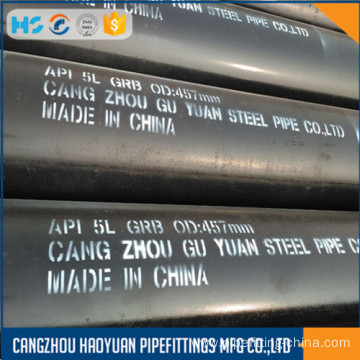 10 Years for Erw Carbon Steel Pipe ASTM A106 Gr.B SCH60 Seamless Ms Black Pipe supply to Montenegro Suppliers