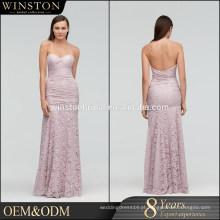 New arrival product wholesale Beautiful Fashion low back vestidos de noite