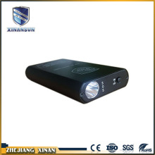 high bright black color battery charge power bank