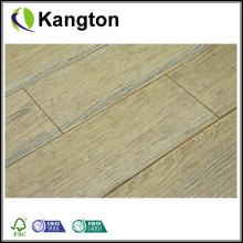 Weiß gewaschener preiswerter Strang gesponnener Bambusfußboden (Bambusfußbodenfliesen)