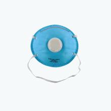 Máscara protectora de 3ply cara máscara de filtrado de carbono activo con respirador