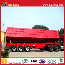 Side Tipper & Dump Cargo Transportation Enclosed Trailers
