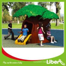 Tree Design Plastic Outdoor Kids Playhouse LE.WS.075.01 Assurance de la qualité