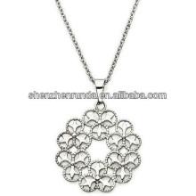 Neue Ankunft 201h Blume hängende Halskettenart und weiseschmucksachen