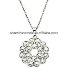 Новое прибытие 201h цветок кулон ожерелье бижутерия