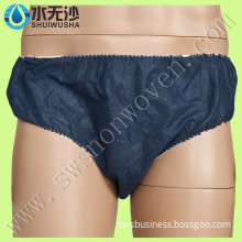 Black Disposable Paper Underwear