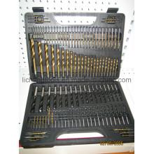 114PCS HSS Spiralbohrer-Set mit Kunststoffpaket