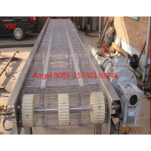 Flat Flex Wire Mesh Conveyor Belt for Food Processing, Baking