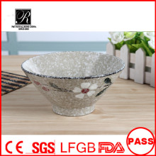 2015 Japanese style Promotion and Popular China Salad Soup Ceramic bowl