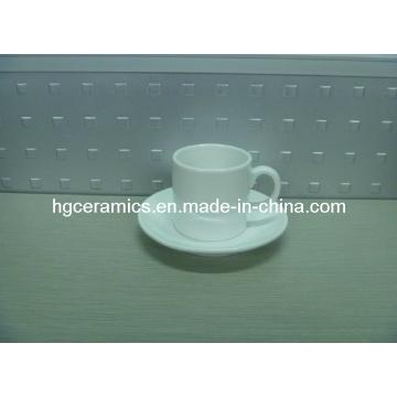 3.5oz Coffee Mug with Saucer