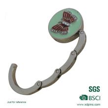 Qualitäts-weicher Emaille-Zink-Legierungs-Taschen-Aufhänger