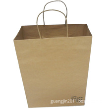 Kraft Paper Shopping Bag for Gift Packaging (hot product)
