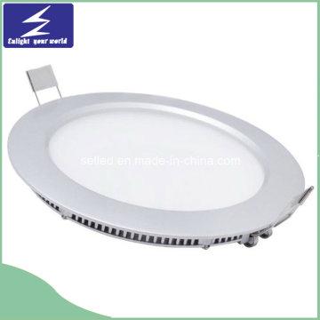 Круглый ультратонкий светодиодный тонкий светодиодный светильник мощностью 9 Вт с трансформатором