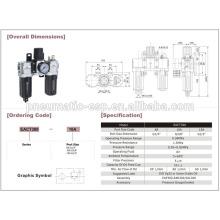 BELT pneumatoc EAC1000-5000 series air combination