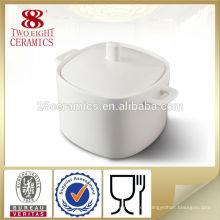Cuenco de sopa profundo grande de cerámica de los artículos de cerámica de Eco para el hotel