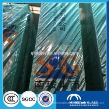 prix de verre de flotteur, verre de flotteur teinté, feuille de verre de flotteur clair de construction de 15mm 12mm avec SGCC