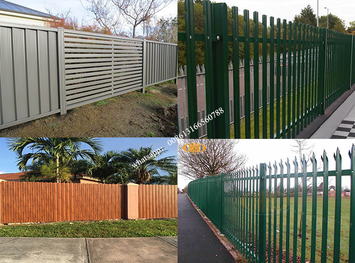 metal fence application