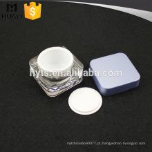 novo produto atacado creme de plástico acrílico frasco cosmético
