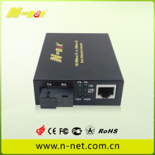 Low price for Fiber To Ethernet Media Converter Media Converter with DIP Switch supply to Italy Suppliers