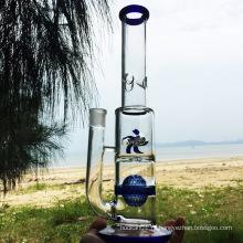 Осенний Новый Blue Windmill Стиль стеклянные трубки для курения воды (ES-GD-277)