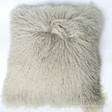 Top qualité tibet agneau fourrure tissu doux couverture