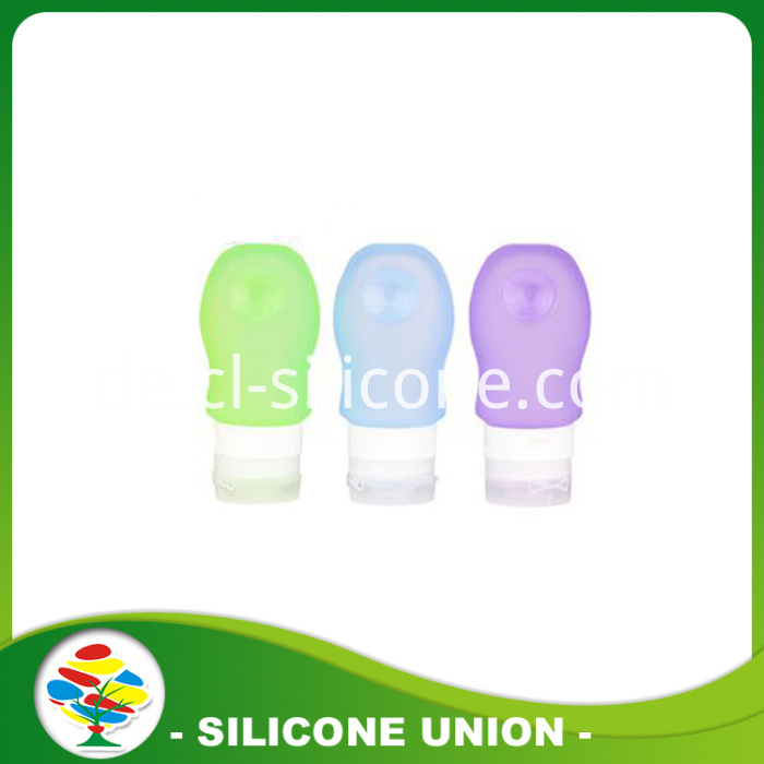 colourful silicone packaging bottle