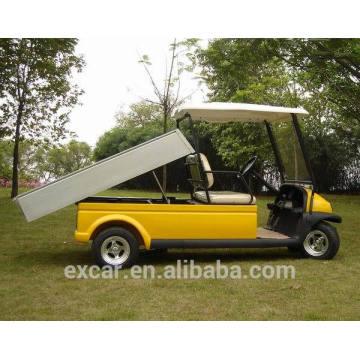 Vehículo de utilidad eléctrico del precio, carro de golf 2seats con la caja del cargo, carro de golf de China