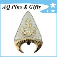 Moedas de ouro comemorativas do abridor de garrafas comemorativas personalizadas (coin-084)