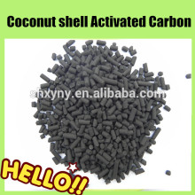CTC 60 coal based columnar activated carbon 4mm for gas adsorption( cylindrical form)