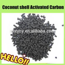 CTC 60 carvão ativado em coluna de carvão 4mm para adsorção de gás (forma cilíndrica)