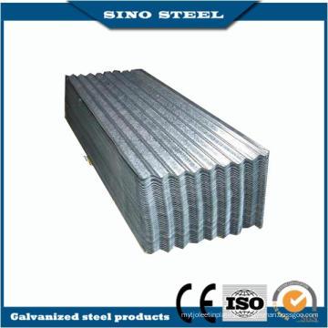 Quente mergulhada galvanizada ondulada telhadura de aço para construção