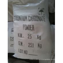 Carbonate de strontium verre peinture industrie